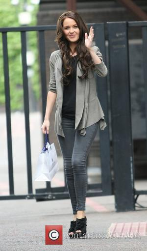Camilla Luddington outside the ITV studios London, England - 27.04.11