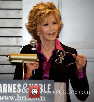 Jane Fonda signs copies of her book 'Prime Time: Making The Most Of All Of Your Life' at Barnes &...