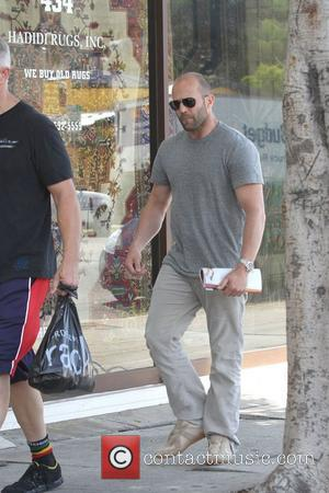 Jason Statham is seen out shopping in West Hollywood  Los Angeles, California - 18.05.11