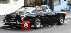 Jay Kay's vintage Ferrari London, England - 23.09.11