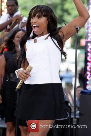 Jennifer Hudson performs on CBS' 'The Early Show' after having to cancel her appearance on the show last week. Hudson...