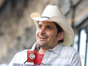 Brad Paisley and Star On The Hollywood Walk Of Fame