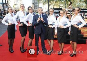 Rowan Atkinson at the premiere of Johnny English Reborn at Empire, Leicester Square, London, England- 02.10.11