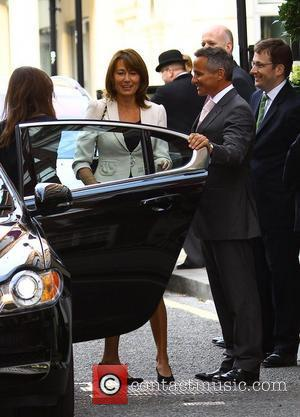 Pippa Middleton, Carole Middleton The Middleton family arriving at The Goring Hotel in central London. London, England - 28.04.11
