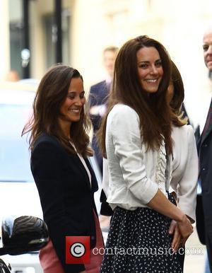 Pippa Middleton, Kate Middleton  The Middleton family arriving at The Goring Hotel in central London. London, England - 28.04.11