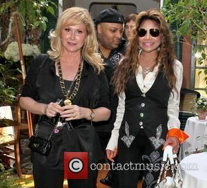 Kathy Hilton and La Toya Jackson Celebrities depart Il Cielo in Beverly Hills after attending the birthday party of Kathy...