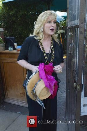 Kathy Hilton Celebrities depart Il Cielo in Beverly Hills after attending the birthday party of Kathy Hilton  Los Angeles,...