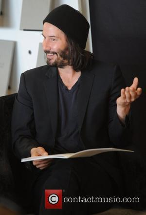 Keanu Reeves at a book signing at Waterstone's, Piccadilly  London, England - 18.06.11