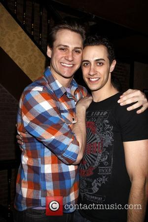 Nicholas Cunningham After party celebrating the final performance of Kelsey Grammer and Douglas Hodge in the Broadway musical production of...