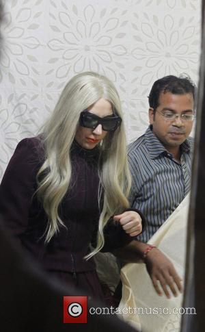 Lady Gaga Visits Indian Orphans