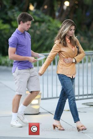 Maria Shriver's Memorial Day Spent Without Arnold