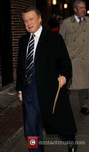 Regis Philbin 'The Late Show with David Letterman' at the Ed Sullivan Theater - Arrivals New York City, USA -...