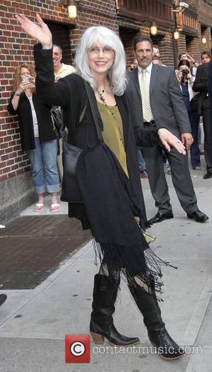 Emmylou Harris,  at the 'The Late Show with David Letterman' in the Ed Sullivan Theater - Arrivals. New York...