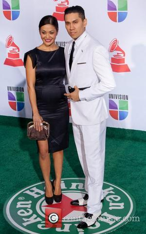Taboo and wife Jaymie 2011 Latin Grammy's at Mandalay Bay Resort and Casino - Arrivals Las Vegas, Nevada - 10.11.11