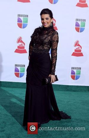Alexandra Rodriguez  2011 Latin Grammy's at Mandalay Bay Resort and Casino Las Vegas - Arrivals Las Vegas, Nevada -...