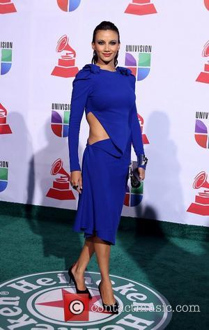 Argelia Atilano  2011 Latin Grammy's at Mandalay Bay Resort and Casino Las Vegas - Arrivals Las Vegas, Nevada -...