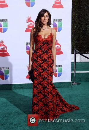 Arlene Tur  2011 Latin Grammy's at Mandalay Bay Resort and Casino Las Vegas - Arrivals Las Vegas, Nevada -...