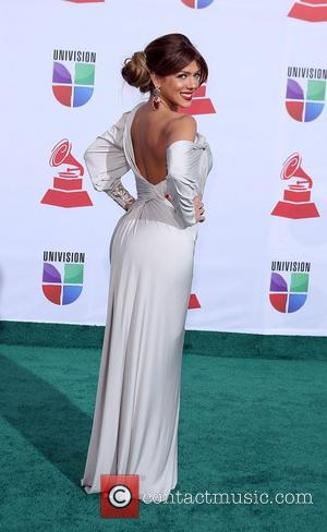 Danella Urbay  2011 Latin Grammy's at Mandalay Bay Resort and Casino Las Vegas - Arrivals Las Vegas, Nevada -...