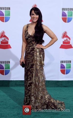Evelyn Herrera  2011 Latin Grammy's at Mandalay Bay Resort and Casino Las Vegas - Arrivals Las Vegas, Nevada -...