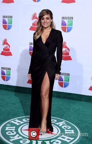 Gloria Ordaz  2011 Latin Grammy's at Mandalay Bay Resort and Casino Las Vegas - Arrivals Las Vegas, Nevada -...