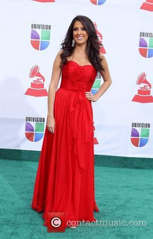 Maria Teresa Interiano  2011 Latin Grammy's at Mandalay Bay Resort and Casino Las Vegas - Arrivals Las Vegas, Nevada...