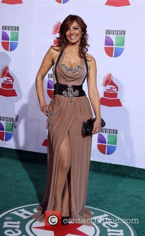 Merche  2011 Latin Grammy's at Mandalay Bay Resort and Casino Las Vegas - Arrivals Las Vegas, Nevada - 10.11.11