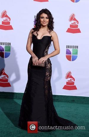 Paula Fernandez  2011 Latin Grammy's at Mandalay Bay Resort and Casino Las Vegas - Arrivals Las Vegas, Nevada -...