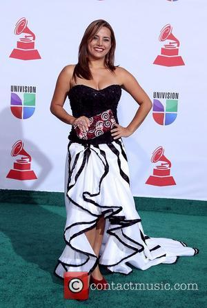 Paula Zuleta  2011 Latin Grammy's at Mandalay Bay Resort and Casino Las Vegas - Arrivals Las Vegas, Nevada -...