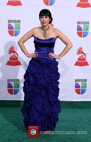 Rakel  2011 Latin Grammy's at Mandalay Bay Resort and Casino Las Vegas - Arrivals Las Vegas, Nevada - 10.11.11