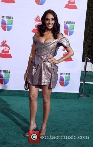 Sandra Echeuerria  2011 Latin Grammy's at Mandalay Bay Resort and Casino Las Vegas - Arrivals Las Vegas, Nevada -...