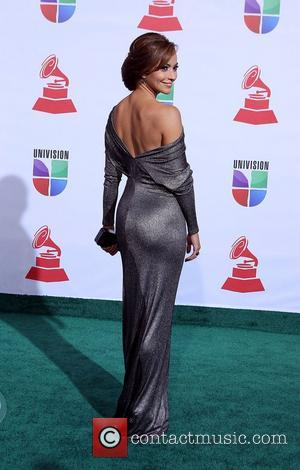 Satcha Pretto  2011 Latin Grammy's at Mandalay Bay Resort and Casino Las Vegas - Arrivals Las Vegas, Nevada -...