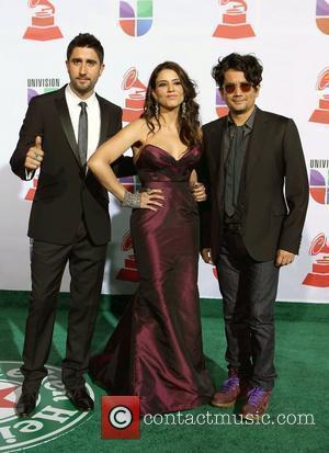 Alex, Jorge, Lena 2011 Latin Grammy's at Mandalay Bay Resort and Casino - Arrivals Las Vegas, Nevada - 10.11.11