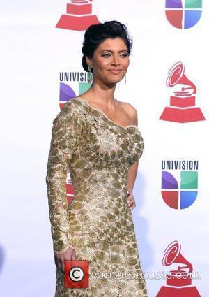 Chiquinquira Delgado 2011 Latin Grammy's at Mandalay Bay Resort and Casino - Arrivals Las Vegas, Nevada - 10.11.11