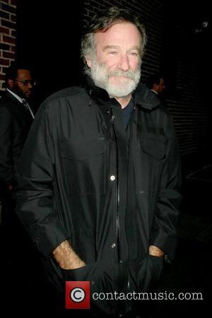 Robin Williams 'The Late Show with David Letterman' at the Ed Sullivan Theater - Arrivals New York City, USA -...