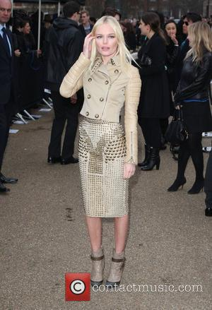 Kate Bosworth London Fashion Week A/W 2011 - Burberry Prorsum - Arrivals held at the Kensington Gardens London, England -...