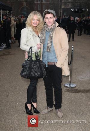 Laura Haddock and Sam Claflin London Fashion Week A/W 2011 - Burberry Prorsum - Arrivals held at the Kensington Gardens...