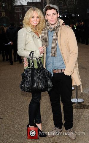 Laura Haddock and Sam Claflin London Fashion Week A/W 2011 - Burberry Prorsum - Arrivals London, England - 21.02.11