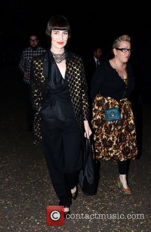 Erin O'connor and London Fashion Week
