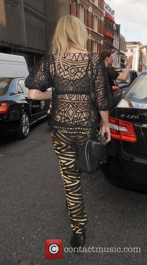 Diana Vickers  London Fashion Week Spring/Summer 2012 - Sass & Bide - The Royal Opera House Outside Departures London,...