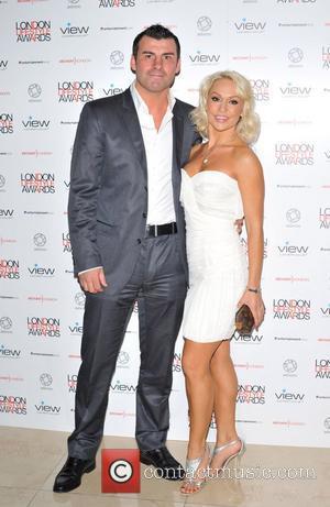 Joe Calzaghe and Kristina Rihanoff London Lifestyle Awards at the Park Plaza Riverbank - Arrivals. London, England - 06.10.11