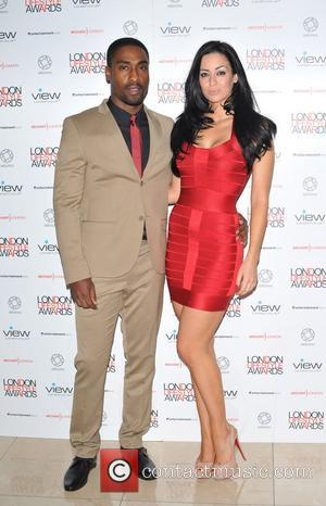 Simon Webbe and Maria Koukas London Lifestyle Awards at the Park Plaza Riverbank - Arrivals. London, England - 06.10.11
