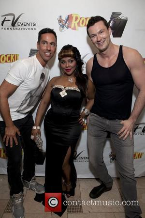 Tony Fornabaio, Lil Kim, Brandon Lil Kim and Amanda Lepore perform together at Club 57 at Providence New York City,...
