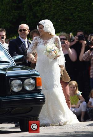 Lily Allen's Baby Joy On Wedding Day