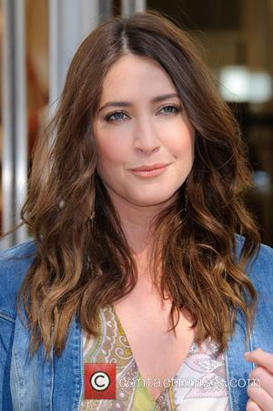 Lisa Snowdon  launches the M&S campaign encouraging customers to donate clothes to Oxfam at Marks & Spencer in Marble...