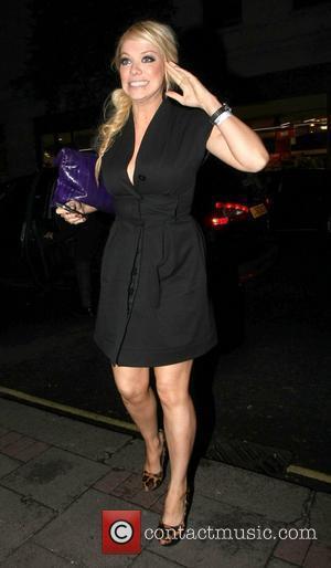 Liz McClarnon returns to the May Fair hotel London, England - 15.02.11