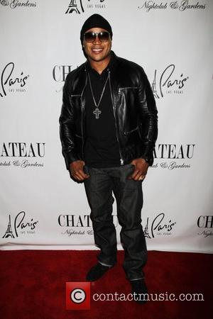 LL Cool J appears as a special guest at Chateau nightclub inside the Paris Hotel and Casino  Las Vegas,...