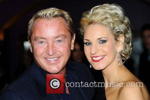 Michael Flatley and Bernadette Flynn at the premiere of Lord Of The Dance 3D held at The Cineworld Haymarket. London,...