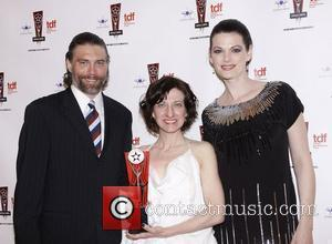 Anson Mount, Donyale Werle and Kate Shindle The 26th Annual Lucille Lortel Awards held at NYU Skirball Center - Press...