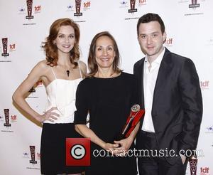 Hilarie Burton, Laurie Metcalf and Eddie Kaye Thomas The 26th Annual Lucille Lortel Awards held at NYU Skirball Center -...