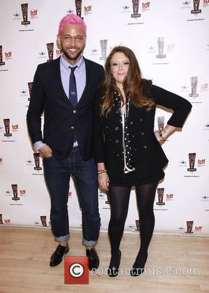 Chris Benz and Natasha Lyonne The 26th Annual Lucille Lortel Awards held at NYU Skirball Center - Press Room New...
